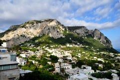 L'isola di Capri, Italia Fotografia Stock