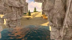 L'isola di galleggiamento archivi video