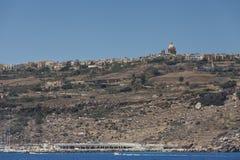 L'isola di Gozo a Malta Immagini Stock
