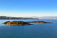 L'isola di Hinitsa Immagini Stock