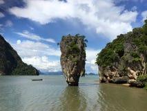 L'isola di James Bond thailand Fotografia Stock Libera da Diritti