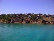 L'isola di Santo Stefano, Italia Fotografie Stock