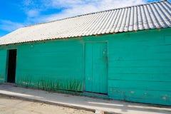 L'isola i Caraibi variopinti di Holbox alloggia il Messico Fotografia Stock Libera da Diritti