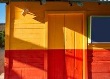 L'isola i Caraibi variopinti di Holbox alloggia il Messico Immagini Stock