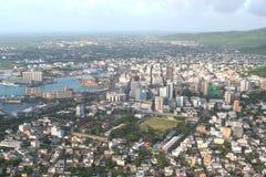 L'Isola Maurizio aerea immagini stock libere da diritti