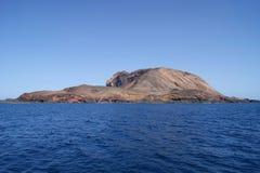 L'isola persa Fotografia Stock
