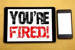 L'ispirazione di titolo del testo di scrittura della mano che vi mostra è infornata Concetto di affari per i disoccupati o scaric Immagini Stock Libere da Diritti