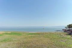 L'Israël, vue de la mer de la Galilée Image libre de droits