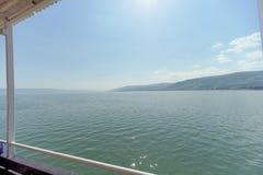 L'Israël, vue de la mer de la Galilée Photos stock
