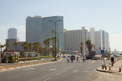 L'Israele. Tel Aviv Fotografie Stock