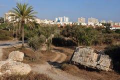 L'Israël - l'Ashkelon Image libre de droits