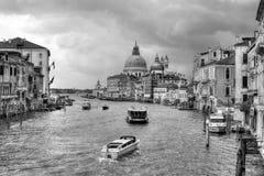 """""""L ` Italië turrita† Uitgetorend Italië [b&w] Stock Foto"""