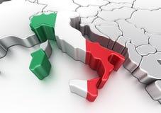 L'Italia Immagine Stock Libera da Diritti