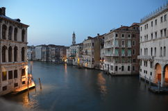 L'Italia alla notte Fotografia Stock