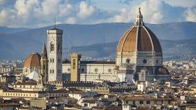 L'Italia Belle viste di Firenze, cattedrale Santa Maria del Fiore Fotografia Stock