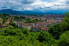 L'Italia, Bergamo Fotografia Stock