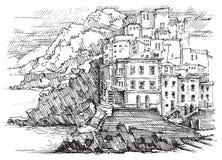 L'Italia, Cinque Terre Immagini Stock Libere da Diritti