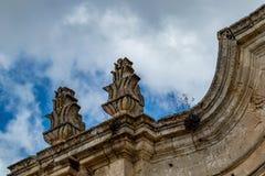 L'Italia, dettaglio architettonico dal centro storico immagine stock libera da diritti