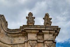 L'Italia, dettaglio architettonico dal centro storico fotografie stock libere da diritti