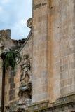 L'Italia, dettaglio architettonico dal centro storico immagini stock