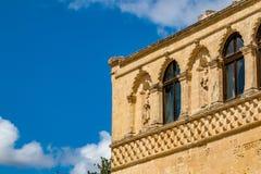 L'Italia, dettaglio architettonico dal centro storico fotografia stock libera da diritti
