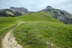 L'Italia, dintorni di Cornetto del supporto, alpi italiane Fotografia Stock