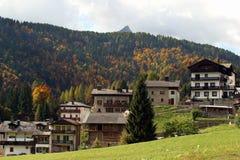 L'Italia, Friuli Venezia Giulia, villaggio di Sauris Immagine Stock Libera da Diritti