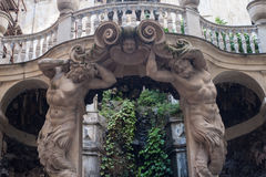 L'Italia, Genova, lomellino di Nicolosio del palazzo, musei di nuova strada immagini stock libere da diritti