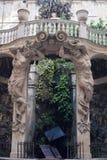 L'Italia, Genova, lomellino di Nicolosio del palazzo, musei di nuova strada fotografia stock libera da diritti