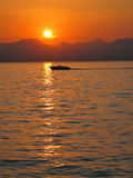 L'Italia, Lago di garda Fotografia Stock