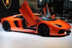 L'Italia Lamborghini Aventador LP 700-4 Immagini Stock Libere da Diritti