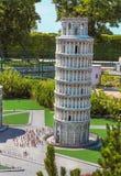 L'Italia in miniatura Fotografia Stock Libera da Diritti