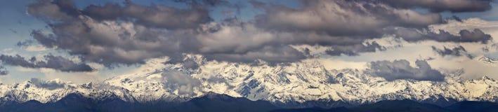 L'Italia, Piemonte, alpi italiane Immagini Stock Libere da Diritti