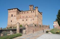 L'Italia, Piemonte Castello di Grinzane Cavour fotografie stock libere da diritti