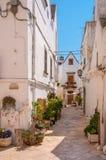 L'Italia Puglia Locorotondo Fotografie Stock