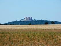 L'Italia Puglia, vista della campagna del murge, fotografia stock