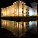 L'Italia - Riva del Garda di notte Fotografie Stock
