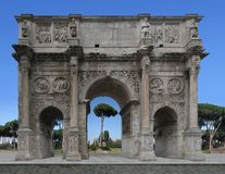 L'Italia, Roma: Arco di Konstantin Fotografia Stock Libera da Diritti