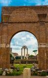 L'Italia, Roma, forum romano fotografie stock libere da diritti