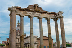 L'Italia, Roma, forum romano immagine stock libera da diritti