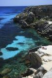 L'Italia, Sicilia, isola di Favignana Immagine Stock