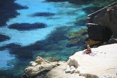 L'Italia, Sicilia, isola di Favignana Fotografia Stock