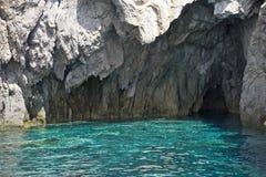 L'Italia Sicilia, isole eolie, Panarea Basiluzzo immagine stock
