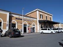 L'Italia, stazione di Civitavecchia immagine stock