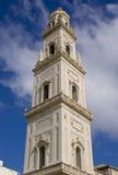 L'Italia, torretta della cattedrale di Lecce Fotografia Stock