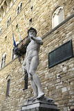 L'Italia, Toscana, Firenze, David di Michelangelo, della quadrato Signoria Fotografia Stock Libera da Diritti