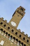 L'Italia, Toscana, Firenze, Torre D'Arnolfo, della quadrato Signoria Fotografia Stock