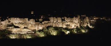 L'ITALIA, Toscana, Pitigliano Immagini Stock Libere da Diritti