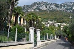 2016 L'Italia Una villa del beatifull in Gargnano Fotografie Stock Libere da Diritti