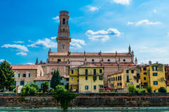 L'Italia, Verona, cattedrale Fotografie Stock